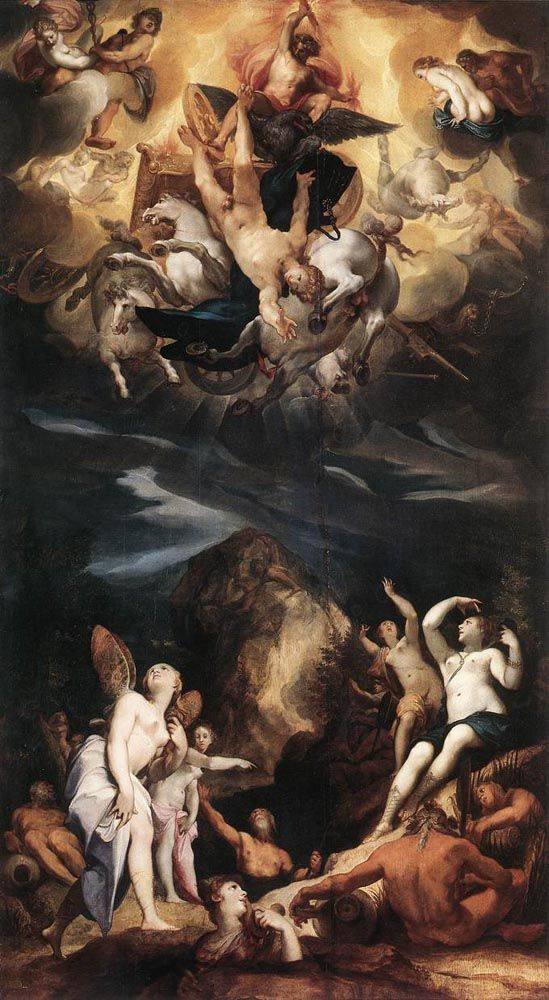 The Fall Of Phaeton by James Ward