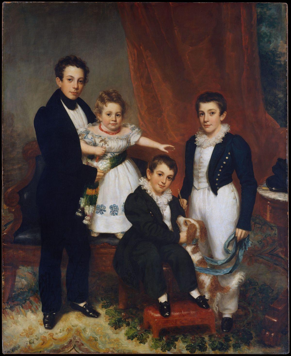 The Knapp Children by Samuel Lovett Waldo