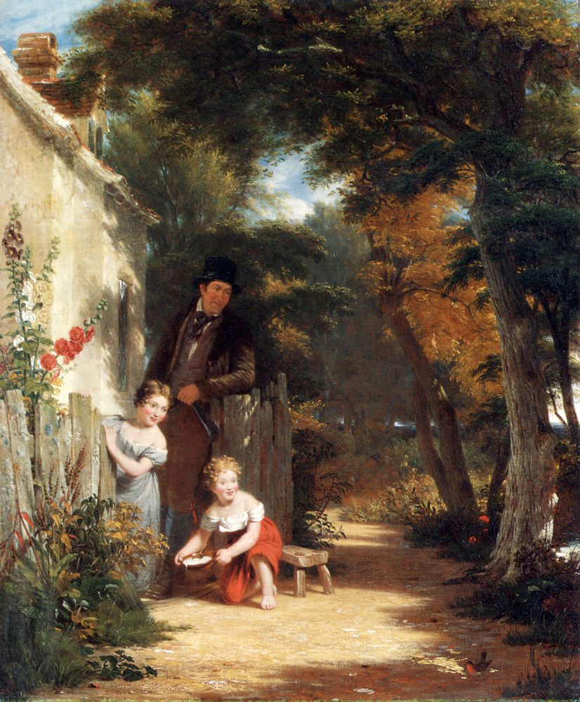 The Robin by William Frederick Witherington