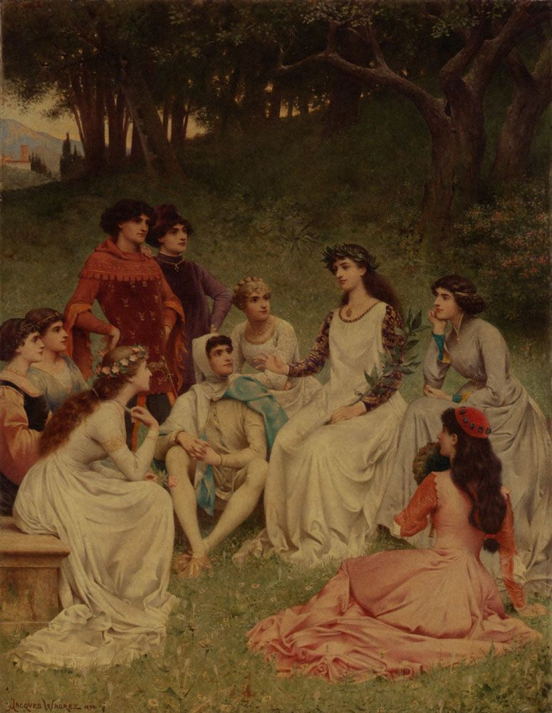 The Storyteller by Jacques Clement Wagrez
