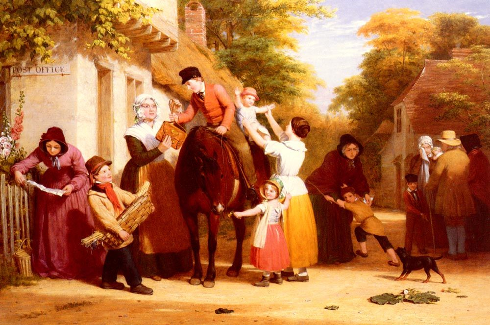 The Village Post Office by William Frederick Witherington