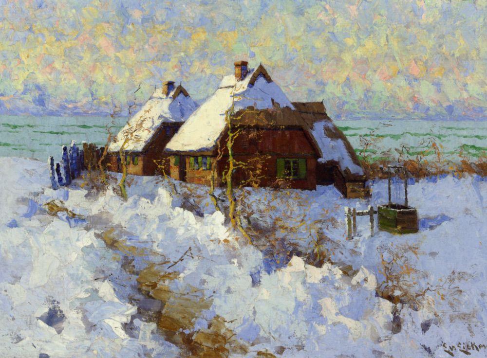 Winter Landscape by Elisabeth von Eicken