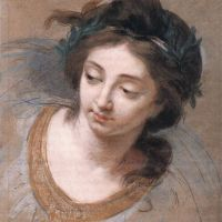 Woman's Head by Elisabeth Louise Vigee Le Brun