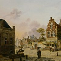 A Summer Day in Haarlem by Jan Hendrik Verheijen