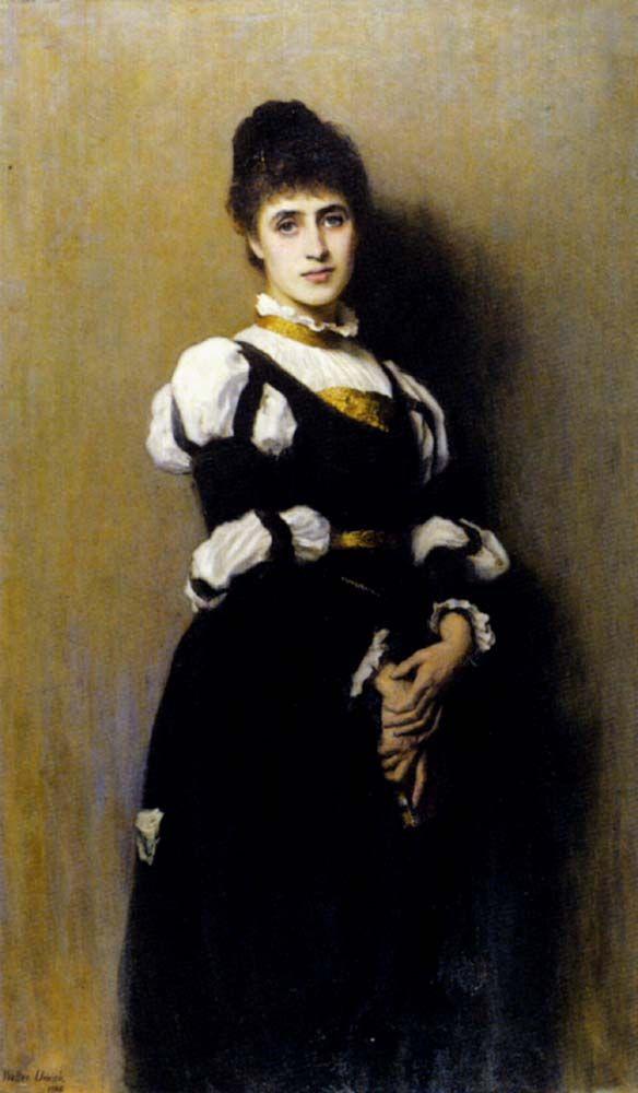 A Young Beauty by Walter Chamberlain Urwick
