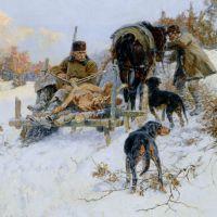 After the hunt by Jaroslav Fr. Julius Vesin