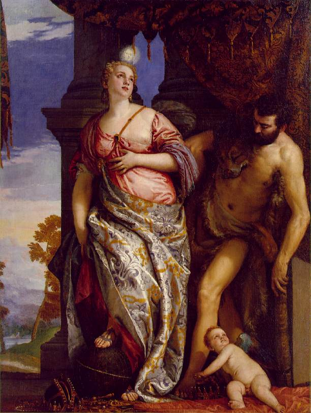 Allegory of Wisdom and Strength by Paolo Veronese