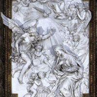 Annuciation by Filippo della Valle
