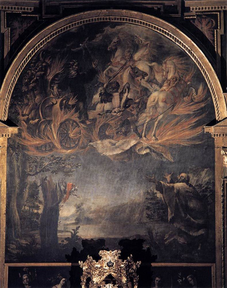 Ascension of Elijah by Juan de Valdes Leal