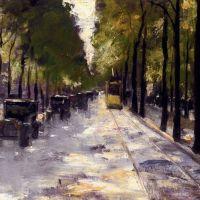 Berlin Street by Lessur Ury