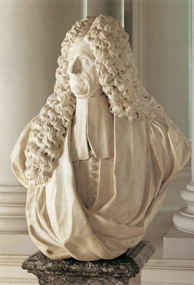 Bust of Jacobus Franciscus van Caverson by Michiel Vervoort the Elder