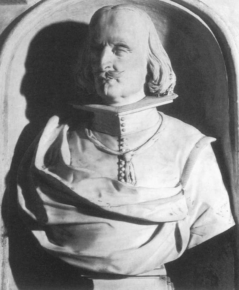 Bust of Vincenzo Petra by Lorenzo Vaccaro