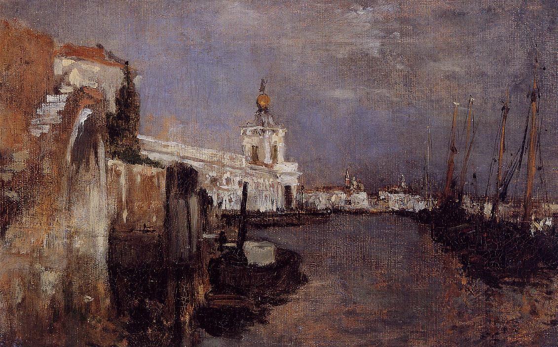 Canal Venice by John Twachtman