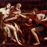 Cephalus And Procris by Alessandro Turchi