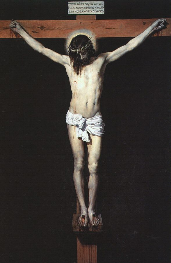 Christ on the Cross by Diego Rodriguez de Silva Velazquez