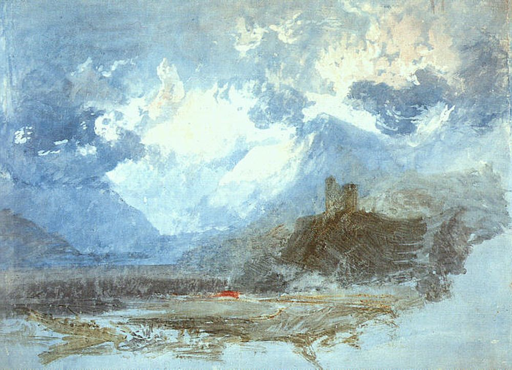 Dolbadern Castle by Joseph Mallord William Turner