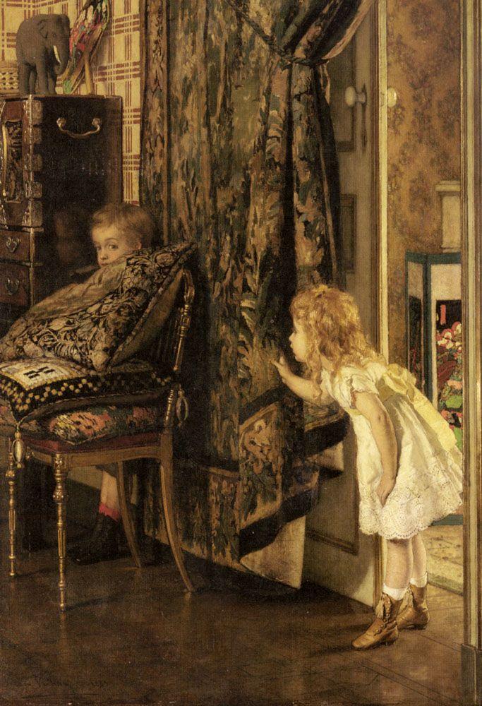 Hide and Seek by Jan Francios Verhas