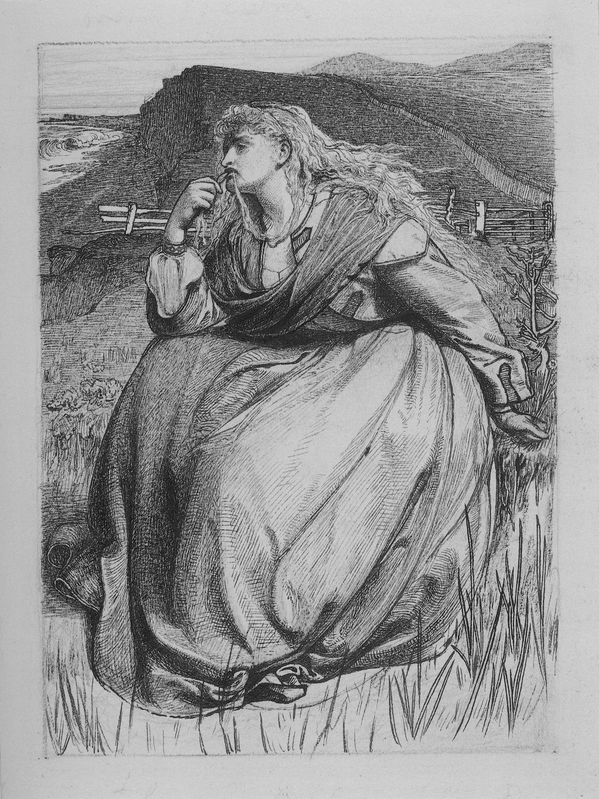 If by Anthony Frederick Sandys