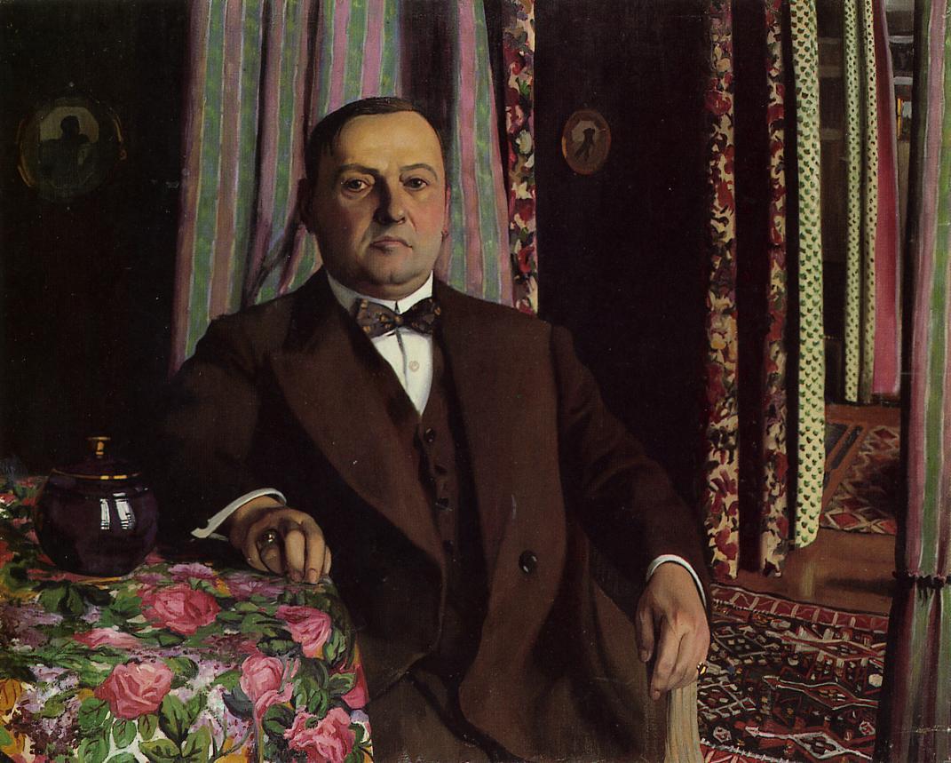 Portrait of Mr Hasen by Felix Vallotton
