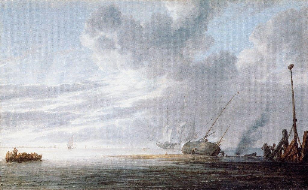 Seascape by Willem van de Velde the Younger