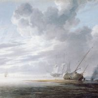 Seascape by Willem van de Velde the Younger