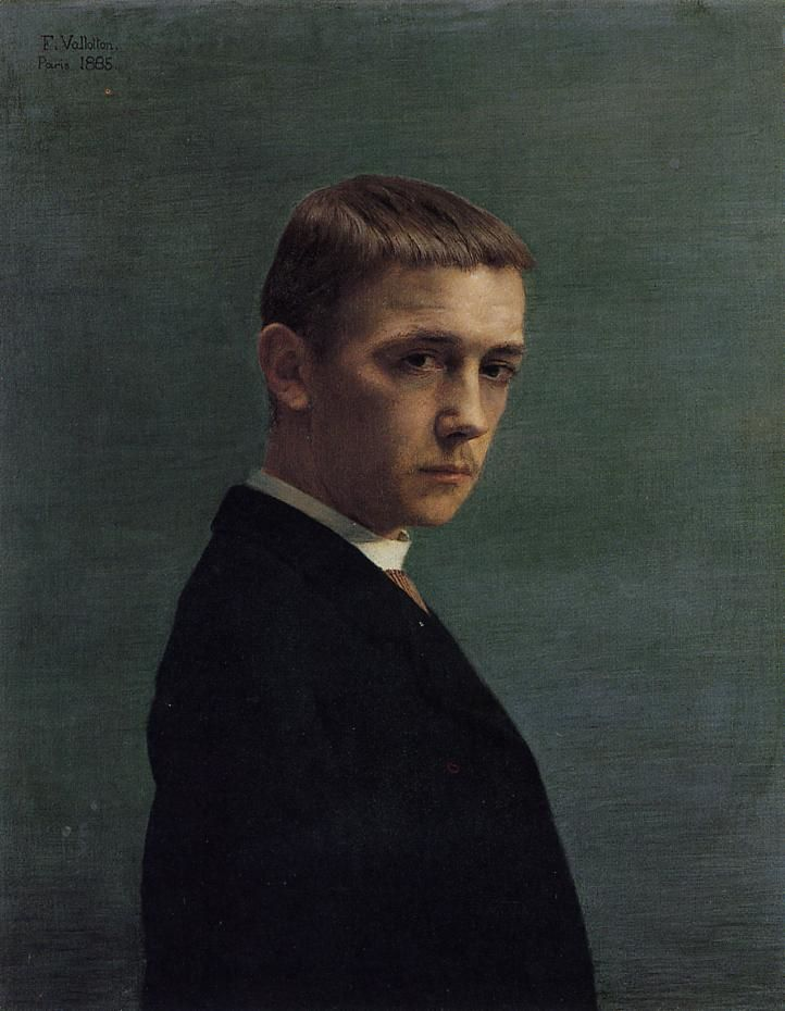 Self Portrait at 20 by Felix Vallotton