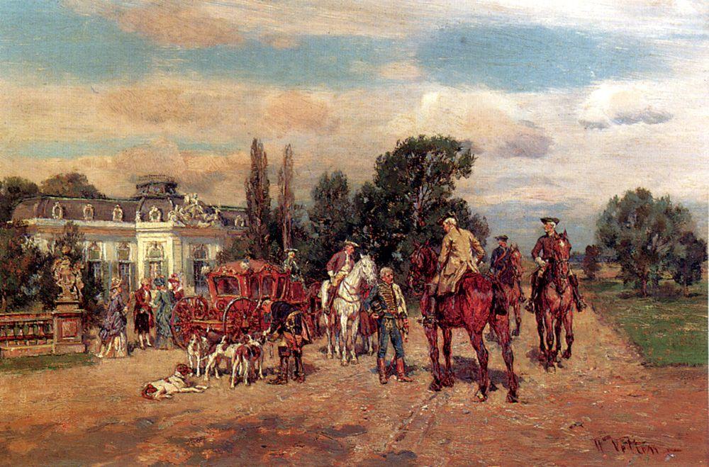 The Arrival by Wilhelm Velten