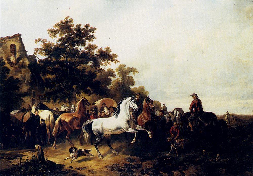 The Horse Fair by Wouter Verschuur