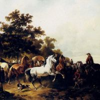 The Horse Fair by Wouter Verschuur