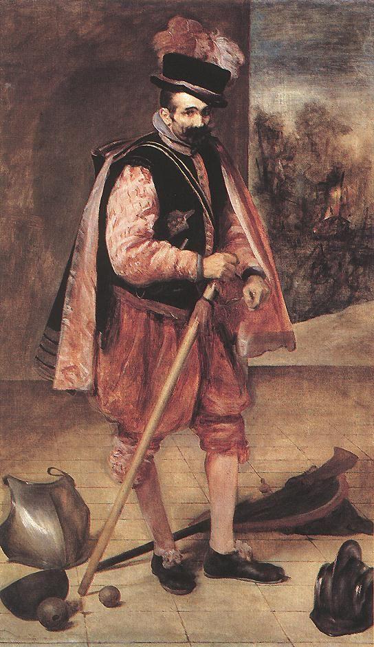 The Jester Known as Don Juan de Austria by Diego Rodriguez de Silva Velazquez