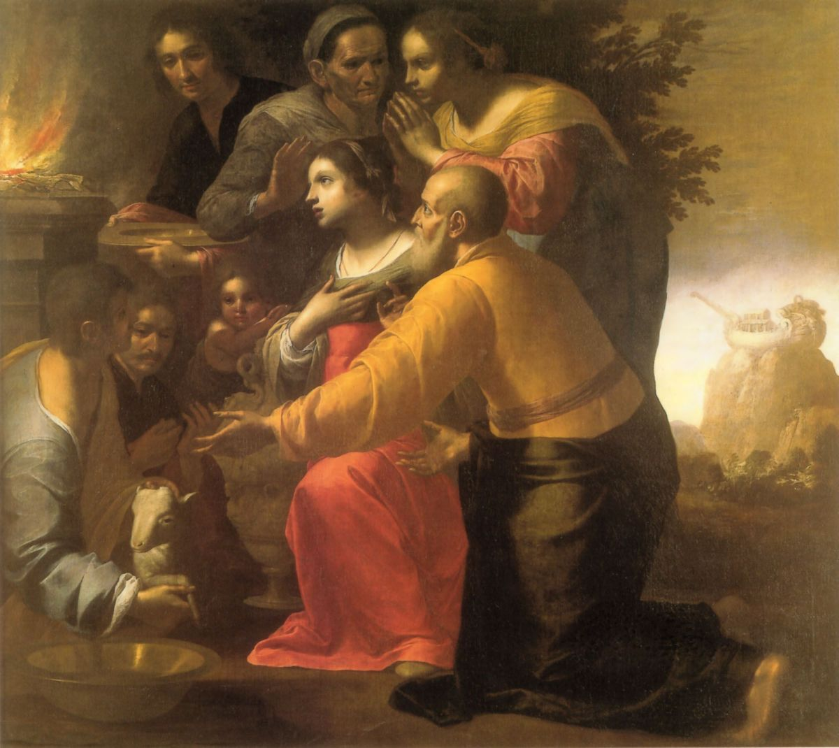 The Lamentation over the Dead Christ by Alessandro Turchi