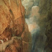 The Passage of the St. Gothard by Joseph Mallord William Turner