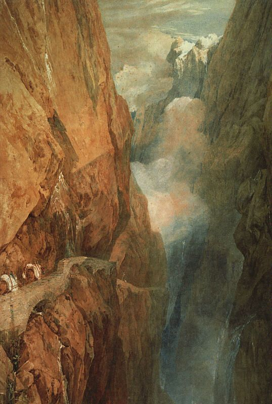 The Passage of the St Gothard by Joseph Mallord William Turner