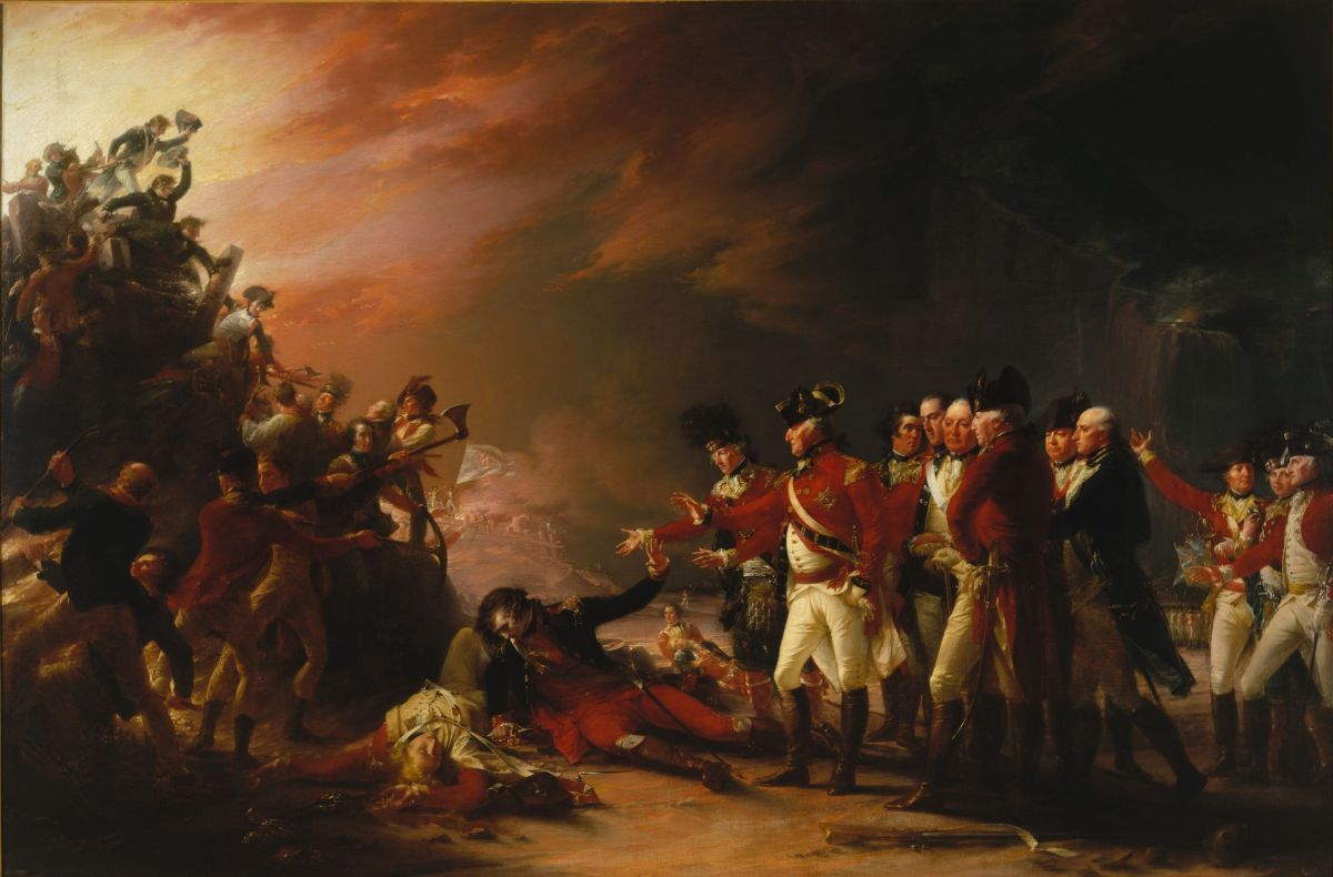 The Sortie Made by the Garrison of Gibraltar by John Trumbull