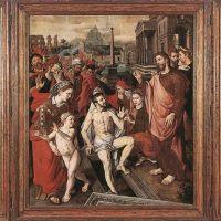 Triptych of the Micault Family by Jan Cornelisz Vermeyen