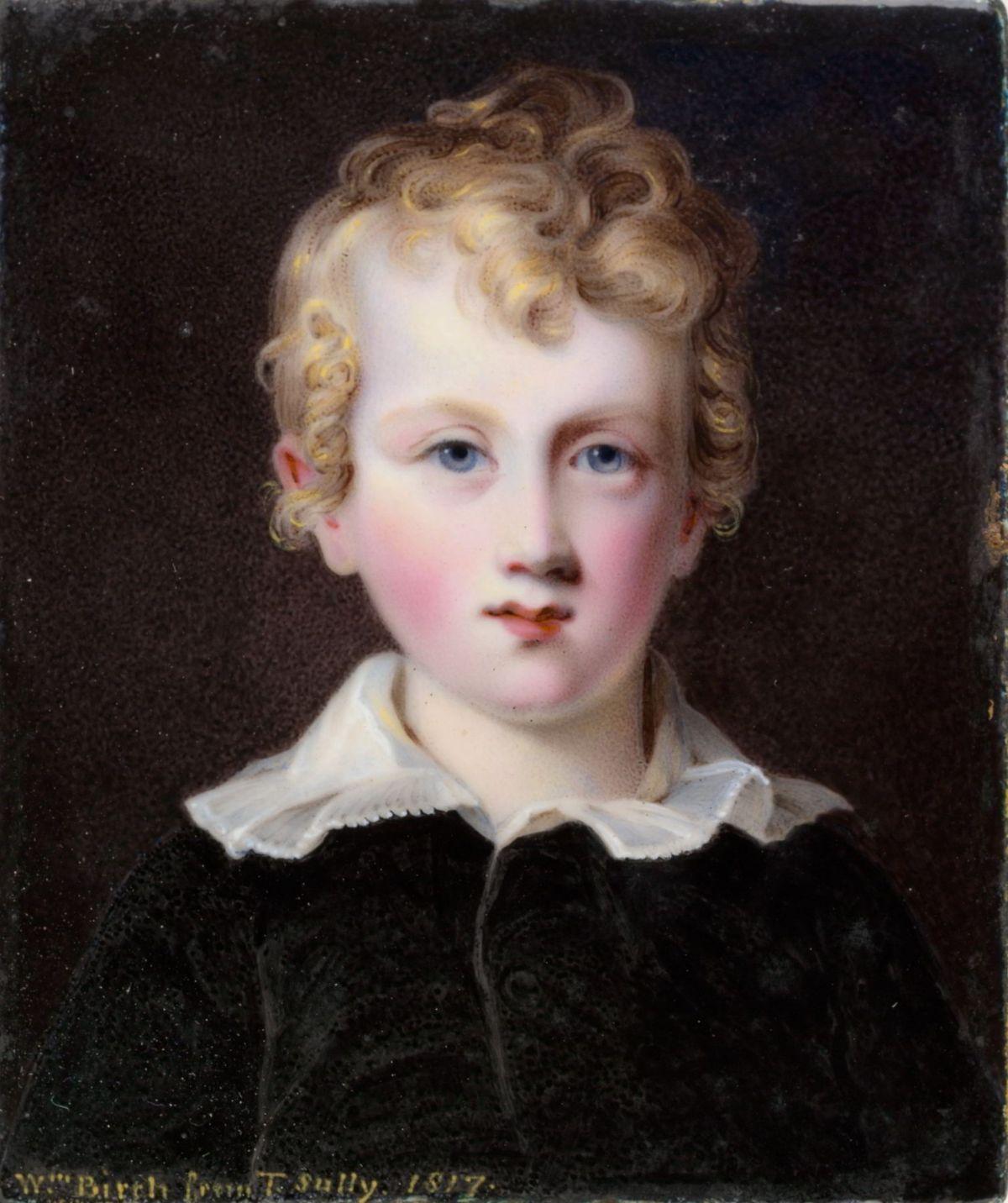 Brock Livingston by William Russell Birch