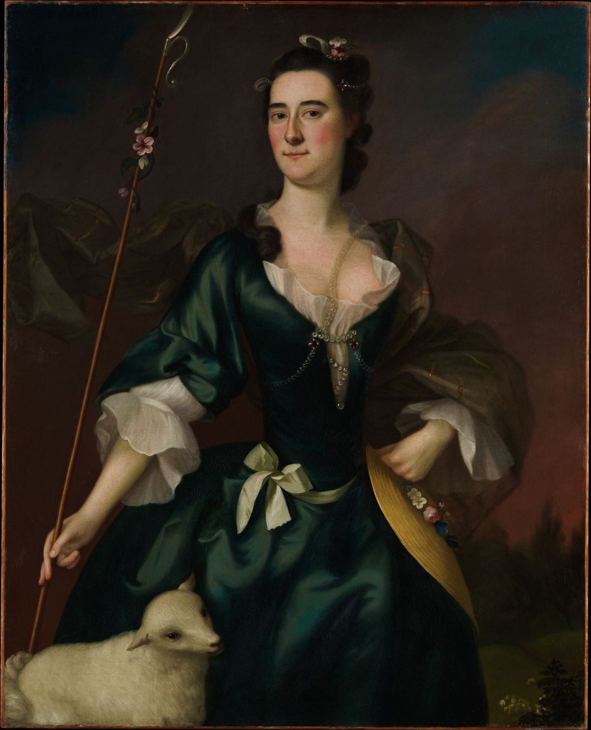 Mary Sylvester by Joseph Blackburn