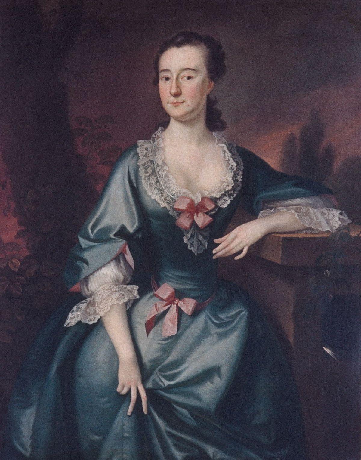 Mrs. David Chesebrough by Joseph Blackburn
