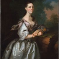 Mrs. Samuel Cutts by Joseph Blackburn