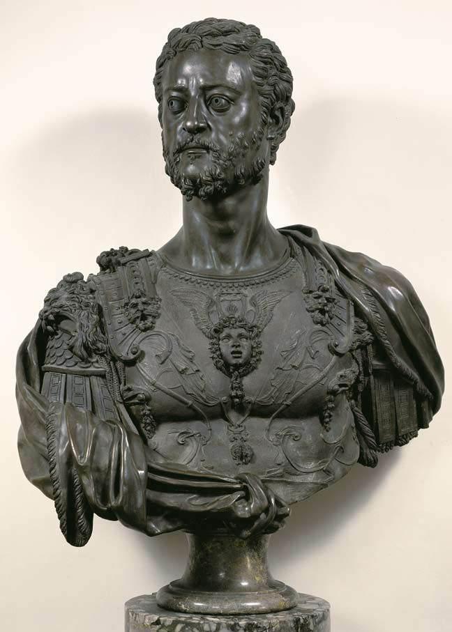 Bust of Cosimo I by Benvenuto Cellini