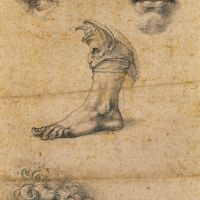 Five studies by Benvenuto Cellini