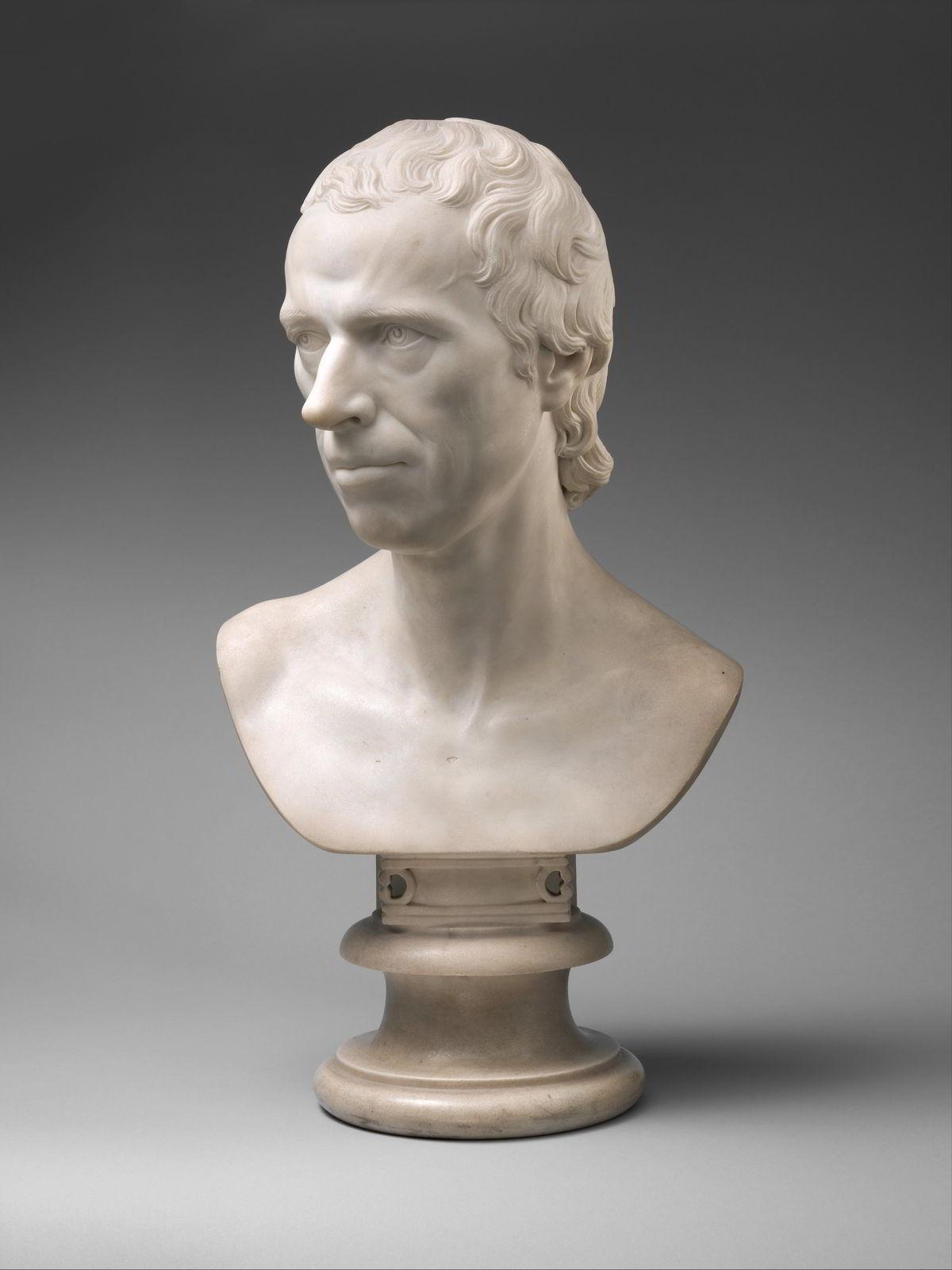 Laurence Sterne by Joseph Nollekens