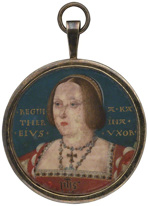 Portrait of Catherine of Aragon by Lucas Horenbout