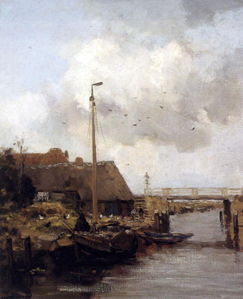 Aan De Wal by Willem George Frederik Jansen