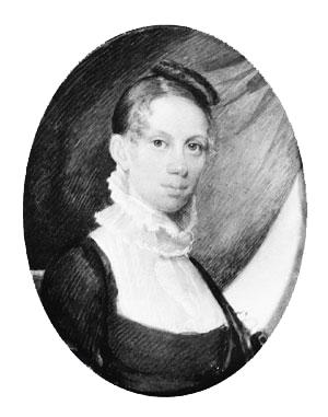 Elizabeth Freeman Duran of Baltimore, Maryland by John Wesley Jarvis