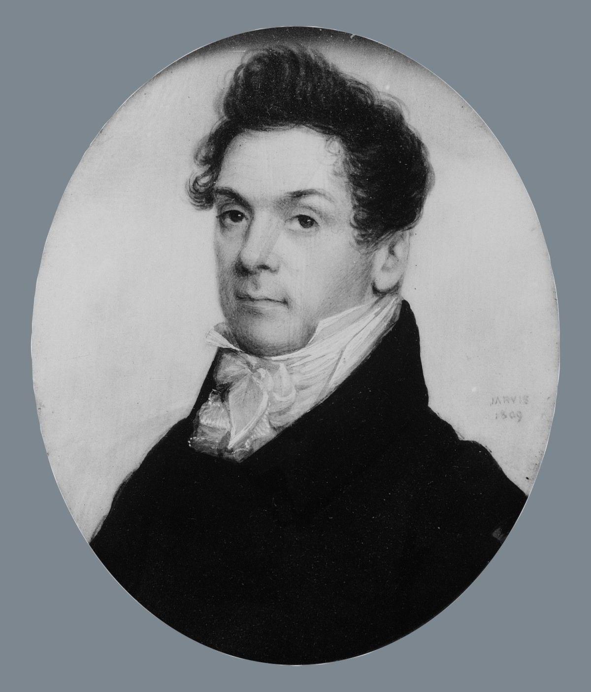 Portrait of a Gentleman by John Wesley Jarvis