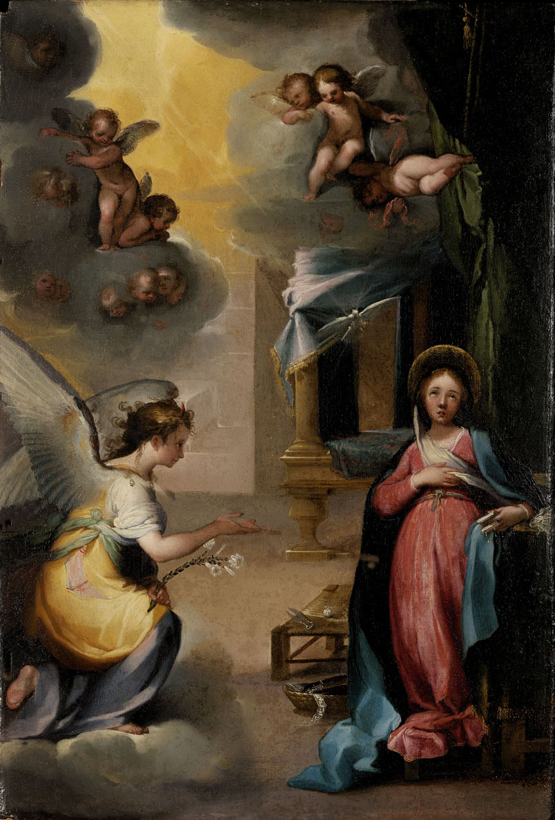 The Annunciation by Ventura Salimbeni