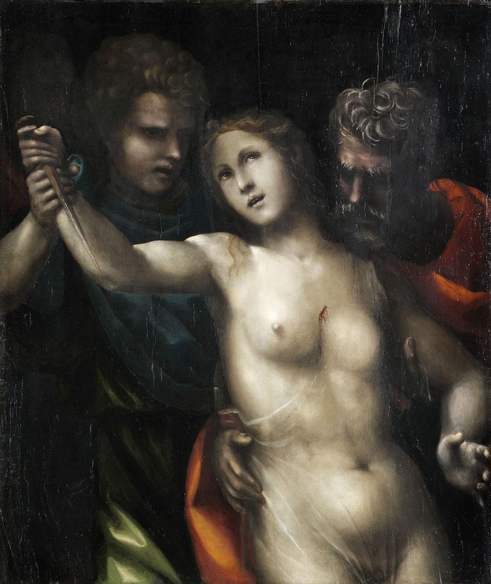 The Death of Lucretia by Il Sodoma