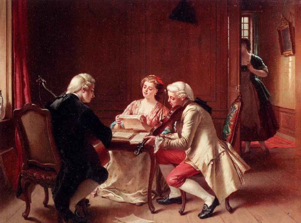 A Pleasant Tune by Theodore Ceriez