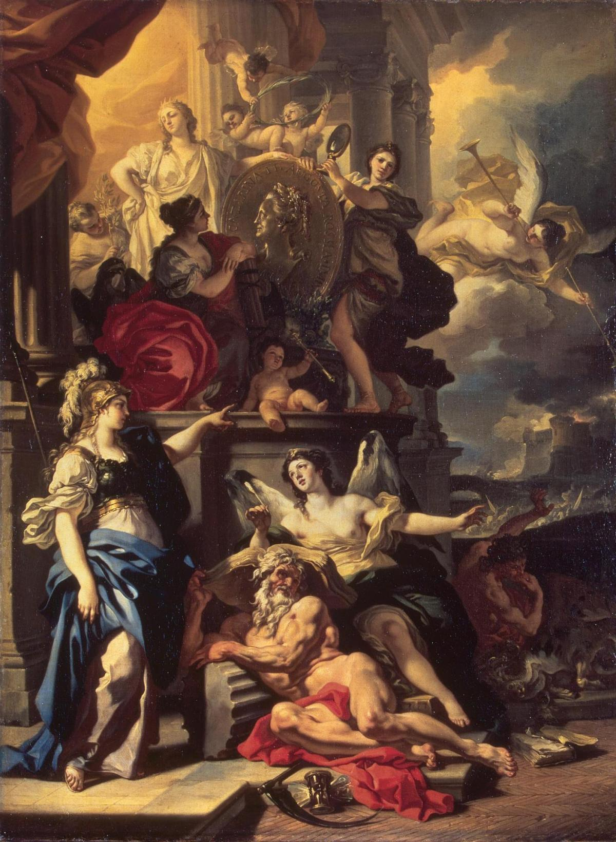 Allegory of Reign by Francesco Solimena